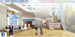 Virtual Career Fair Mall Hall